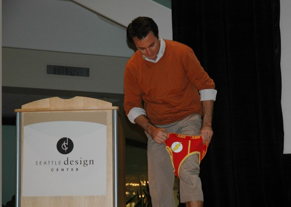 David Lecours speaking at The Seattle Design Center