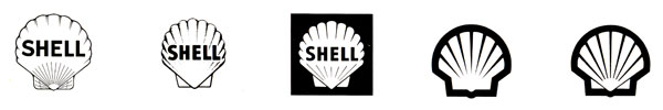Evolution from the Shell Logo