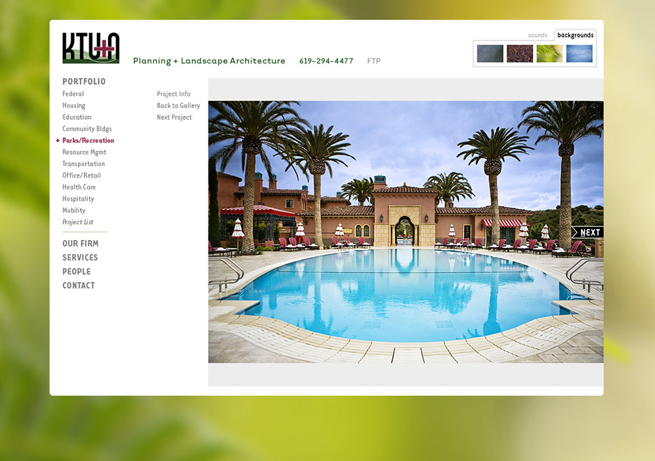 KTU+A Website Project Page