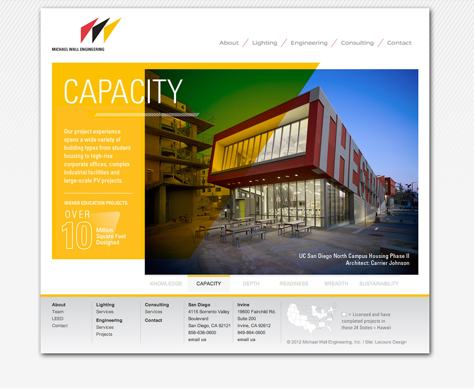 Michael Wall Engineering Website