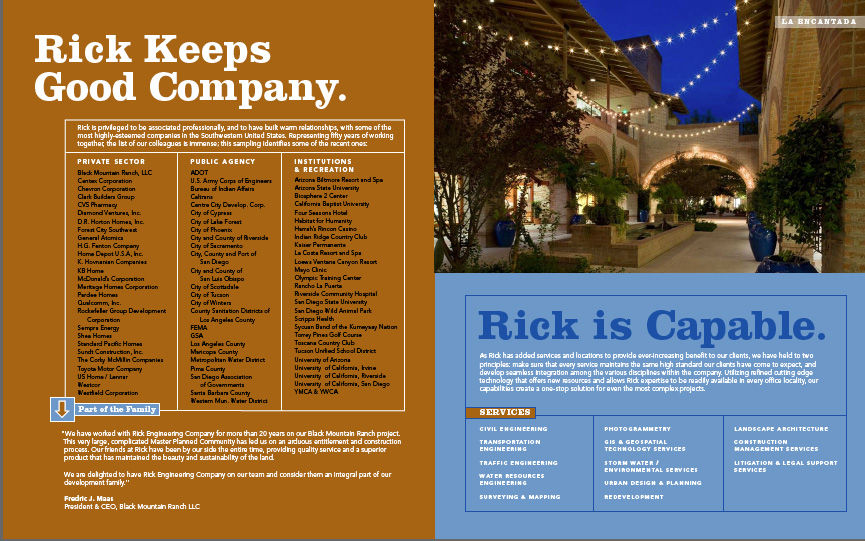Rick Engineering Brochure