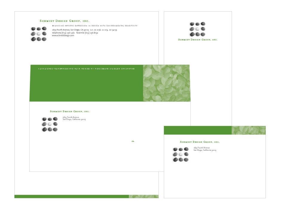 Schmidt Design Stationery System