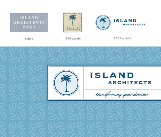 Island Architects rebranding