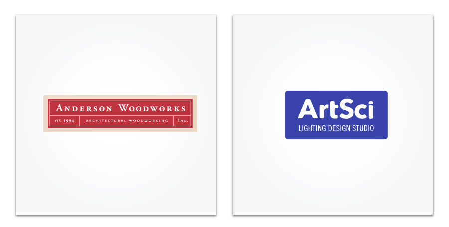 Anderson Woodworks and ArtSci logo
