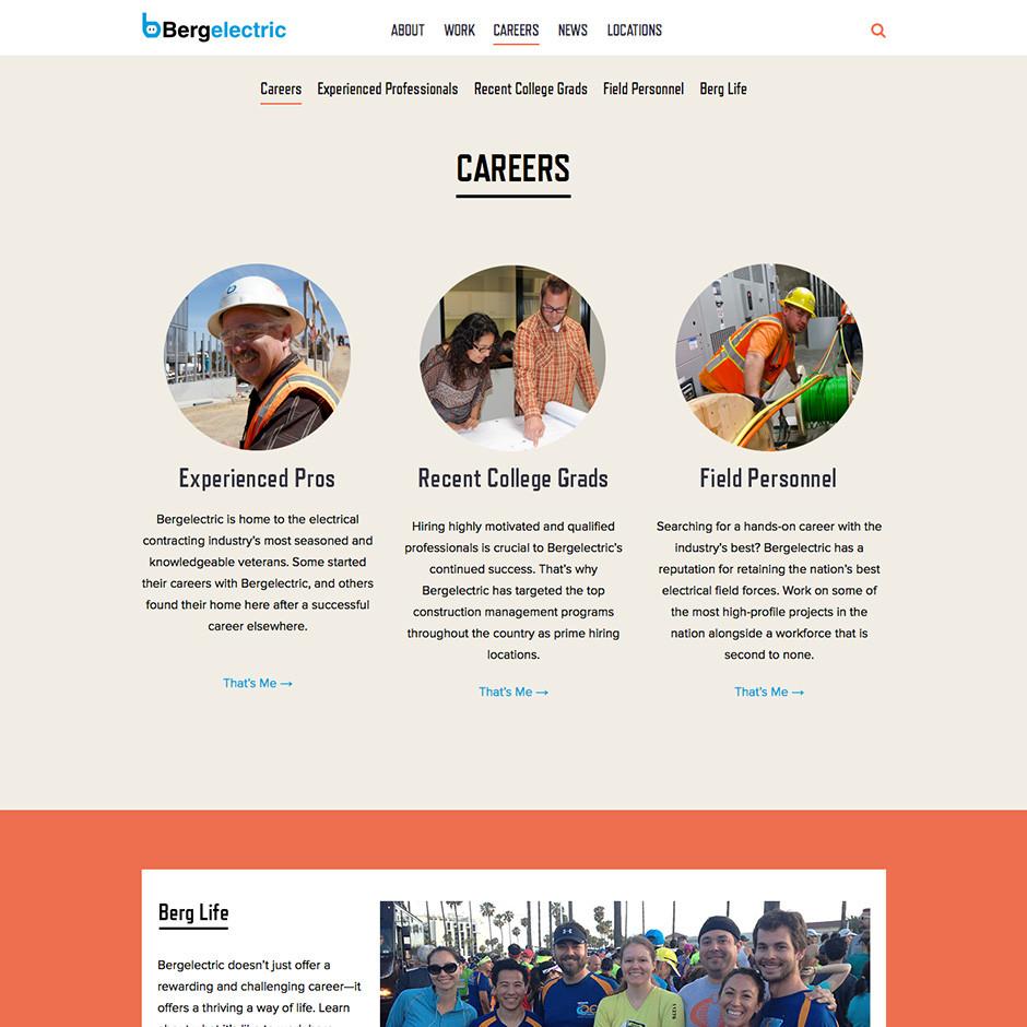 Berg Careers Page