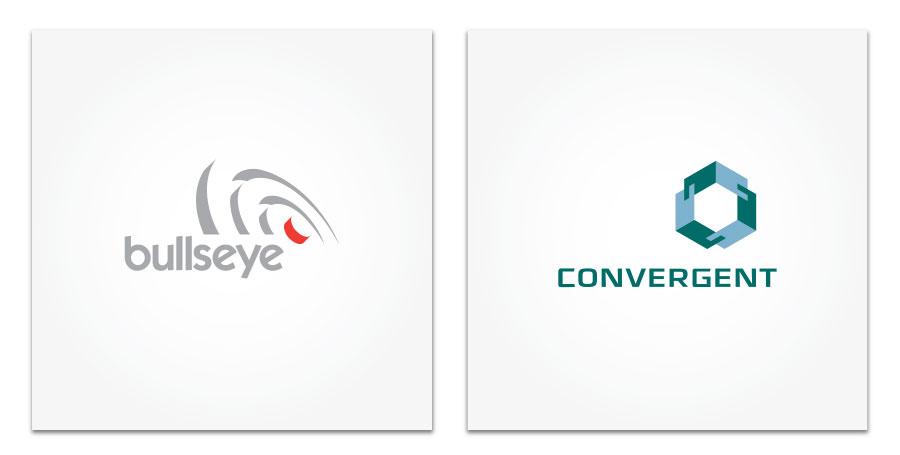 Bullseye and Convergent logo