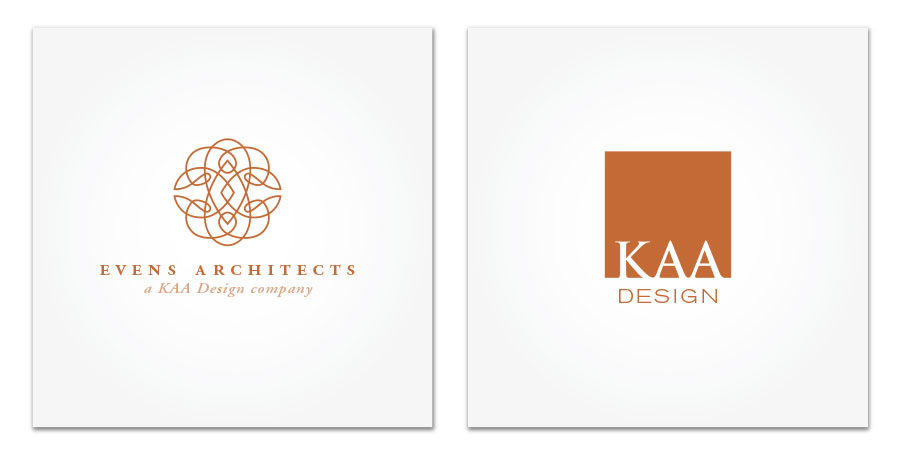 Evens Architects and KAA Design logo