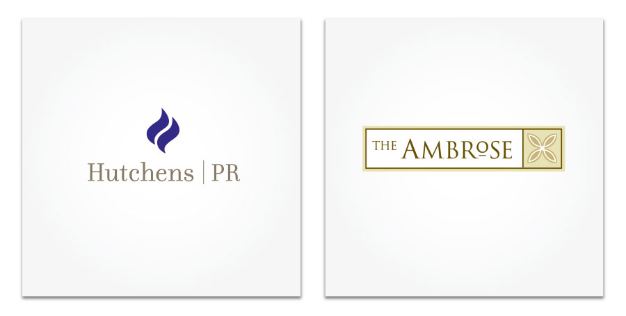 Hutchens PR and The Ambrose Hotel logo