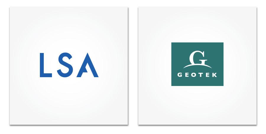 LSA and Geotek logos