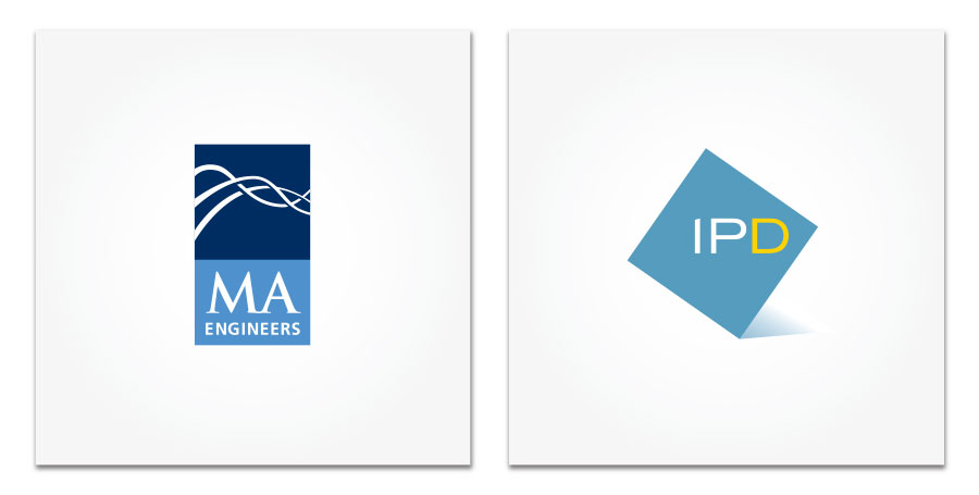MA Engineers and International Parking Design logos