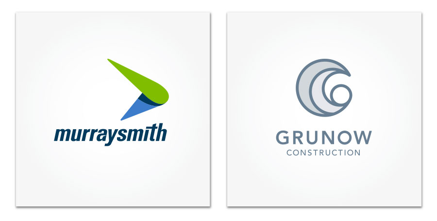 Logo Design for Murraysmith and Grunow Construction
