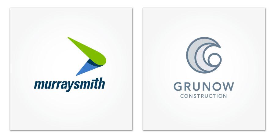 Logo Design for Murraysmith and Grunow Construction