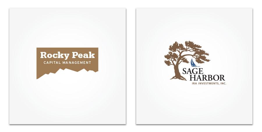 Rocky Peak and Sage Harbor logo