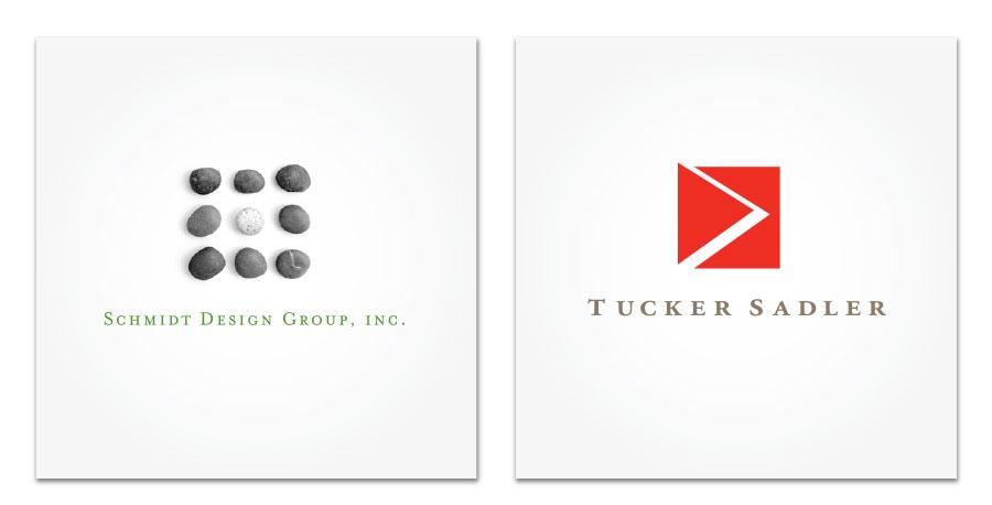 Logos for Schmidt Design Group and Tucker Sadler Architects