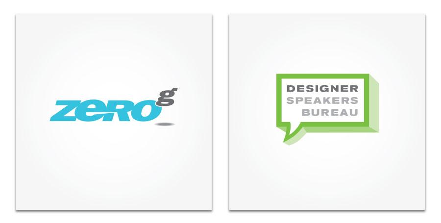 Zero G and Design Speakers Bureau logo