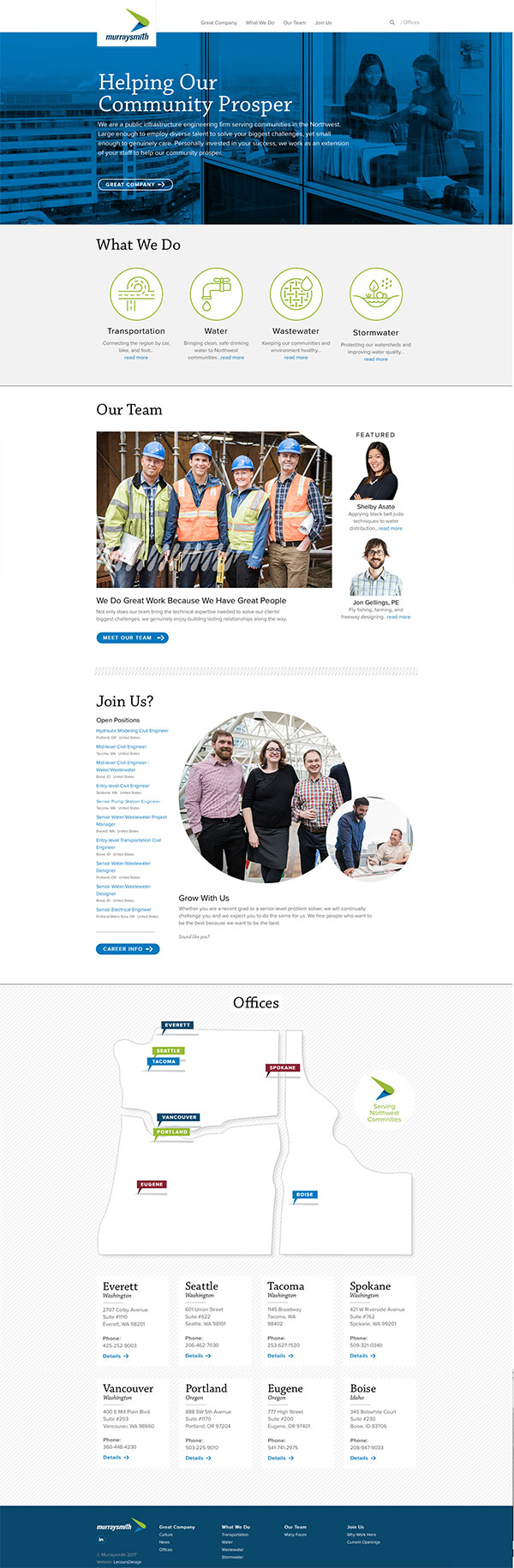 Murraysmith Home Page