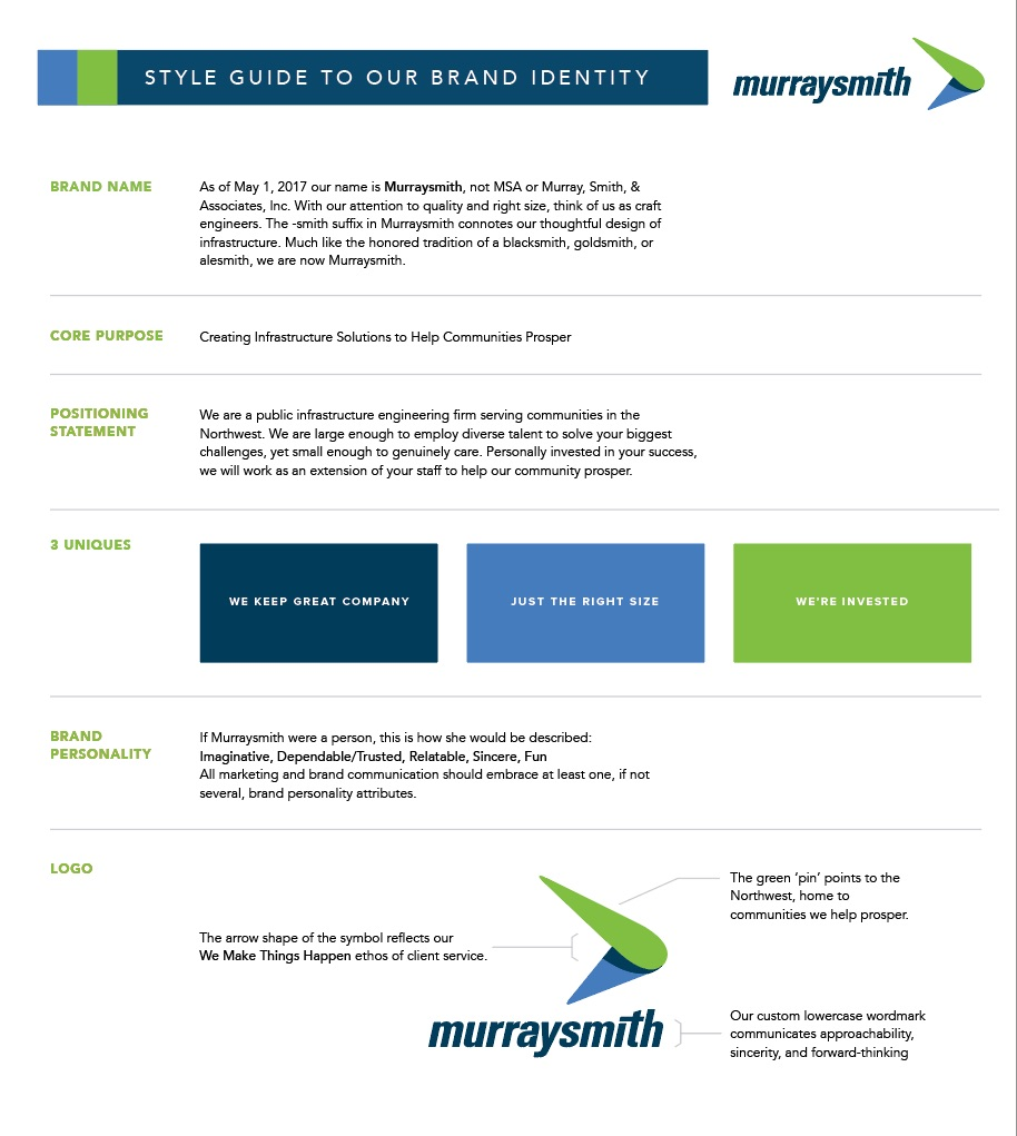 Murraysmith brand style guide 1