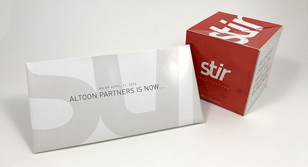 Stir Architecture Direct Mail