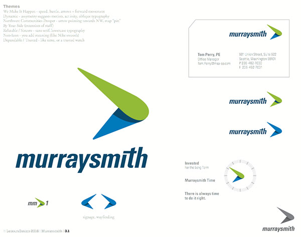 Murraysmith logo finalist