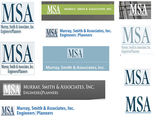 MSA logos before rebrand