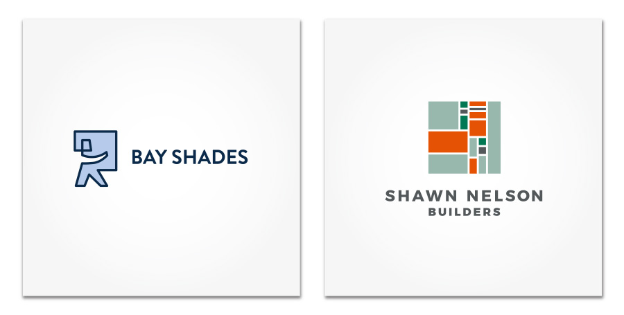 Bay Shades and Shawn Nelson Builders logo